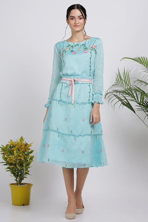 Iris Bloom Dress