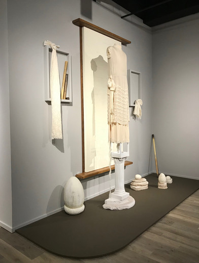 Installation, Dress Matters: Clothing as Metaphor, Tucson Museum of Art.