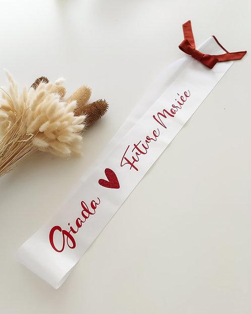 Echarpe ou banderole de Miss