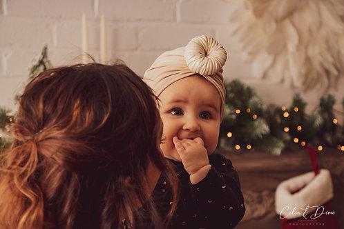 Bonnet bohémien de Noël