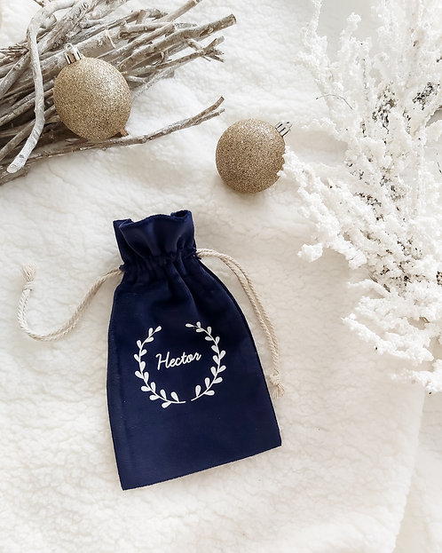 Hotte de Noël mini