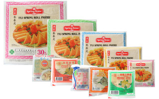 Loempia vellen - Wantan vellen - Pangsit vellen en nog veel meer Aziatische levensmiddelen.