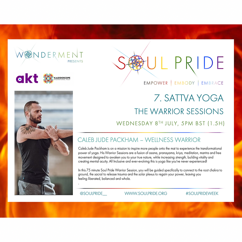 7. SATTVA YOGA - THE WARRIOR SESSIONS