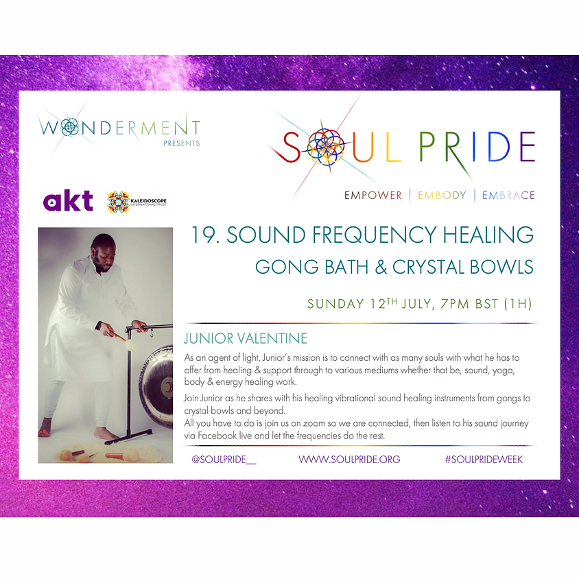 19. SOUND FREQUENCY HEALING - GONG BATHS & CRYSTAL BOWLS