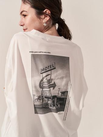 """Motel""photo Big Tee."