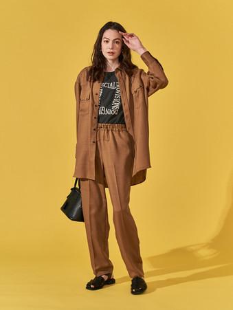 Hemp tone Western Shirts. Pigment Square logo N/S Tops. Hemp tone Western Pants.