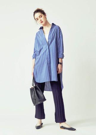Rib Tanktop ¥4,500+tax Shirts one piece¥15,000+tax Cable Pants ¥11,000+tax