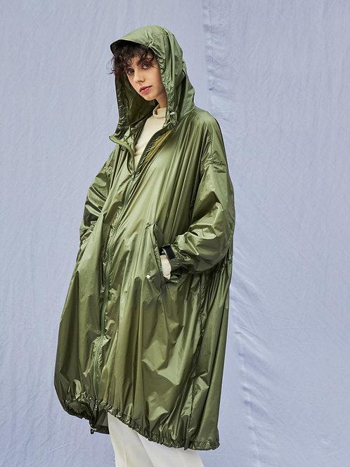 Nylon Hooded Big coat