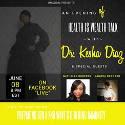 HEALTH IS WEALTH WITH MICHELLE ROBERTS -