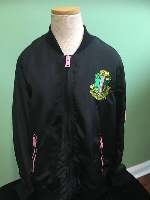 Black Jacket with AKA Shield