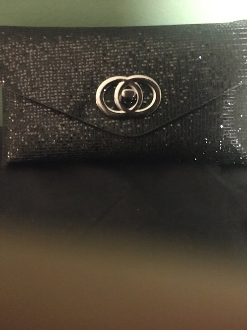 Black Fanny Pack / Clutch / Belt Bag