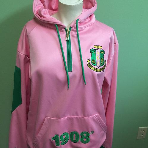 Pink & Green Hoodie