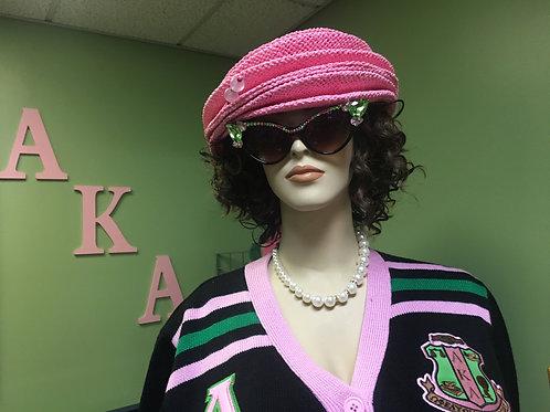 Pink Accordion Hat