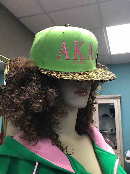 AKA Animal Print Hat