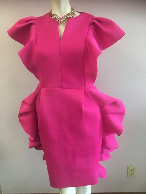 Fuchsia Fashion Dress