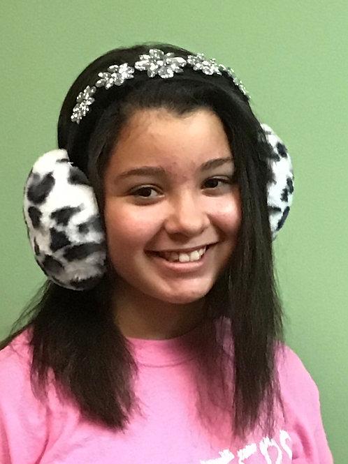 Animal Print Ear Muffs
