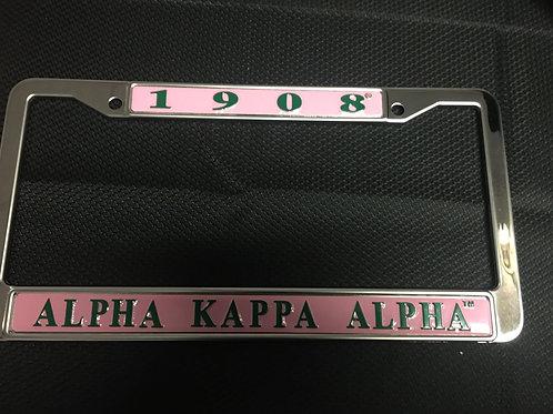 AKA License Plate