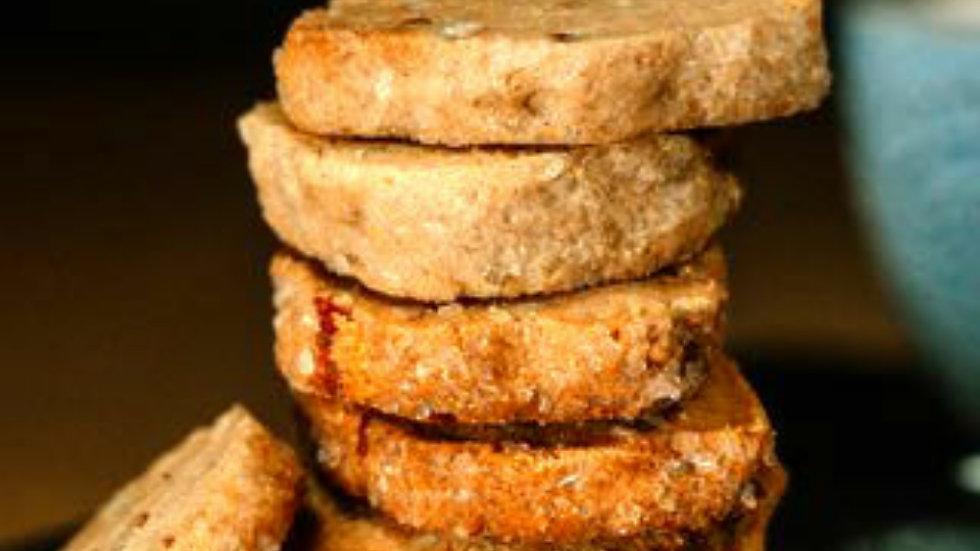 Pecan Sandies (Pecan Shortbred)