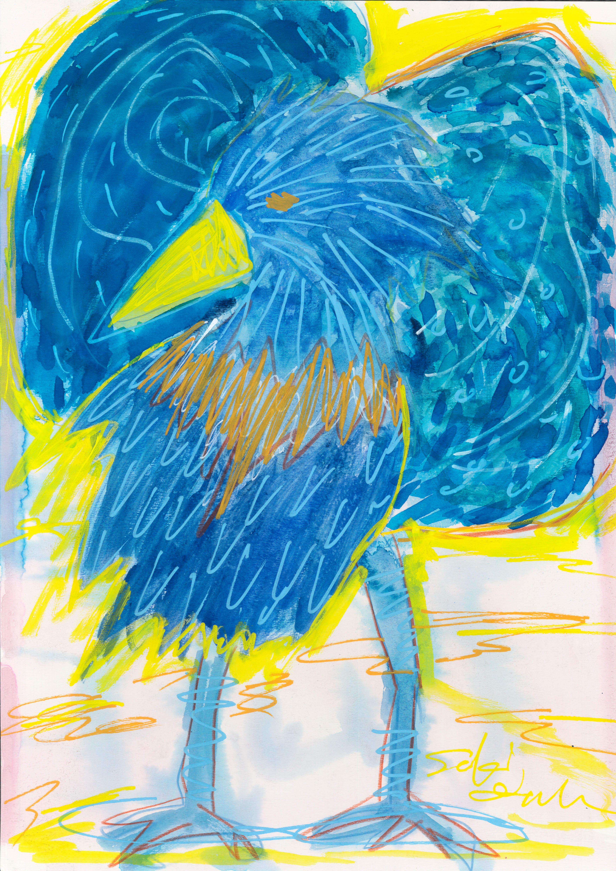 鳥に憧れる