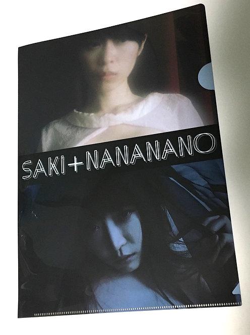 saki+nananano クリアファイル