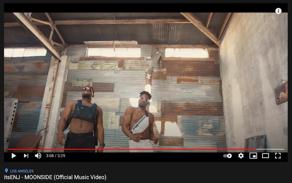 """Snippet for """"itsENJ - MOONSIDE"""" music video"""