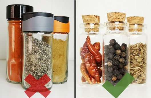 Powdered spices vs Whole spices