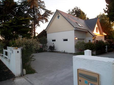 extérieur maison à louer vacances Pornichet