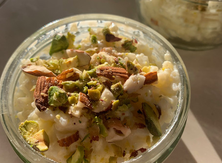 Kheer — Rice Pudding