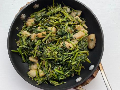 Cresson Toufé — Watercress, Potatoes & Garlic