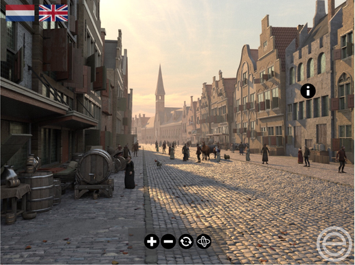 Virtual tour of Leiden, part of the 400th anniversary program
