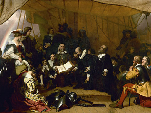 On board the Mayflower in 1620: Hell on earth ahoy!