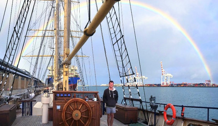 To Freemantle in the West (pictured).  Our journey continues ….