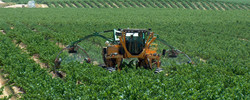 Tractor Mounted 3 Row in Action
