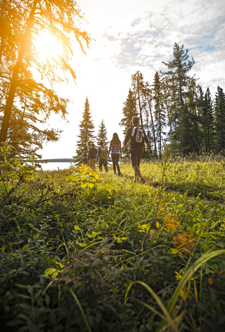 Wandern im Prince Albert National Park