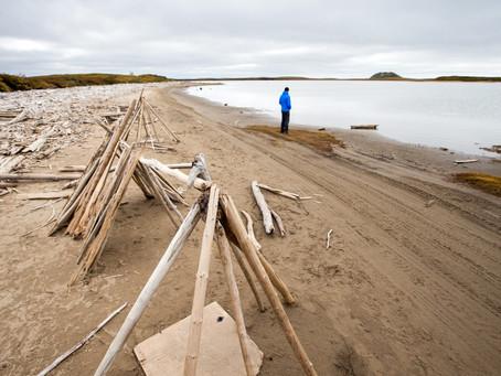 """Ziel: Tuktoyaktuk - Stadt am Ende der """"Arctic Road"""""""