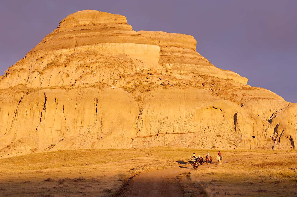 Castle Butte Big Muddy Badlands Gangster Romantik