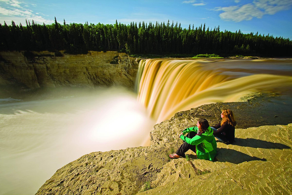 Alexandra Falls Wasserfall