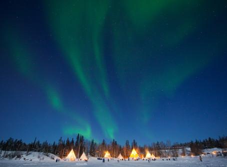 Pressemeldung: Aurora Village ist neue Canadian Signature Experience