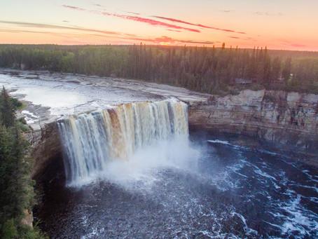 Schöne Aussichten: Naturparks der Northwest Territories mit freiem Blick aufs Wasser