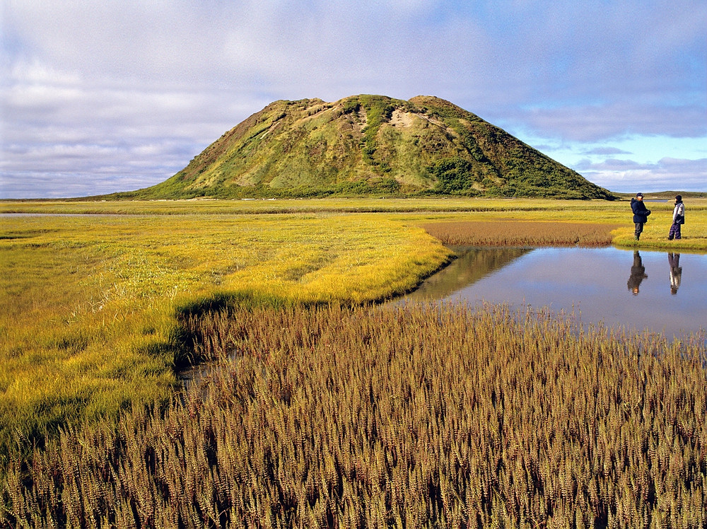 Ibyuk Pingo Tuktoyaktuk Western Arctic Northwest Territories