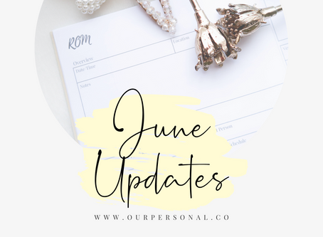June: What's New?!