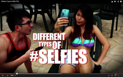 Different Types of #SELFIES