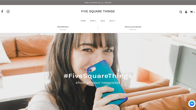 FIVE SQUARE THINGS