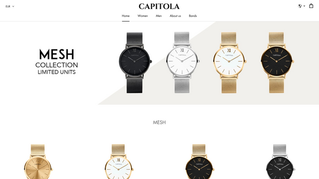 CAPITOLA WATCHES