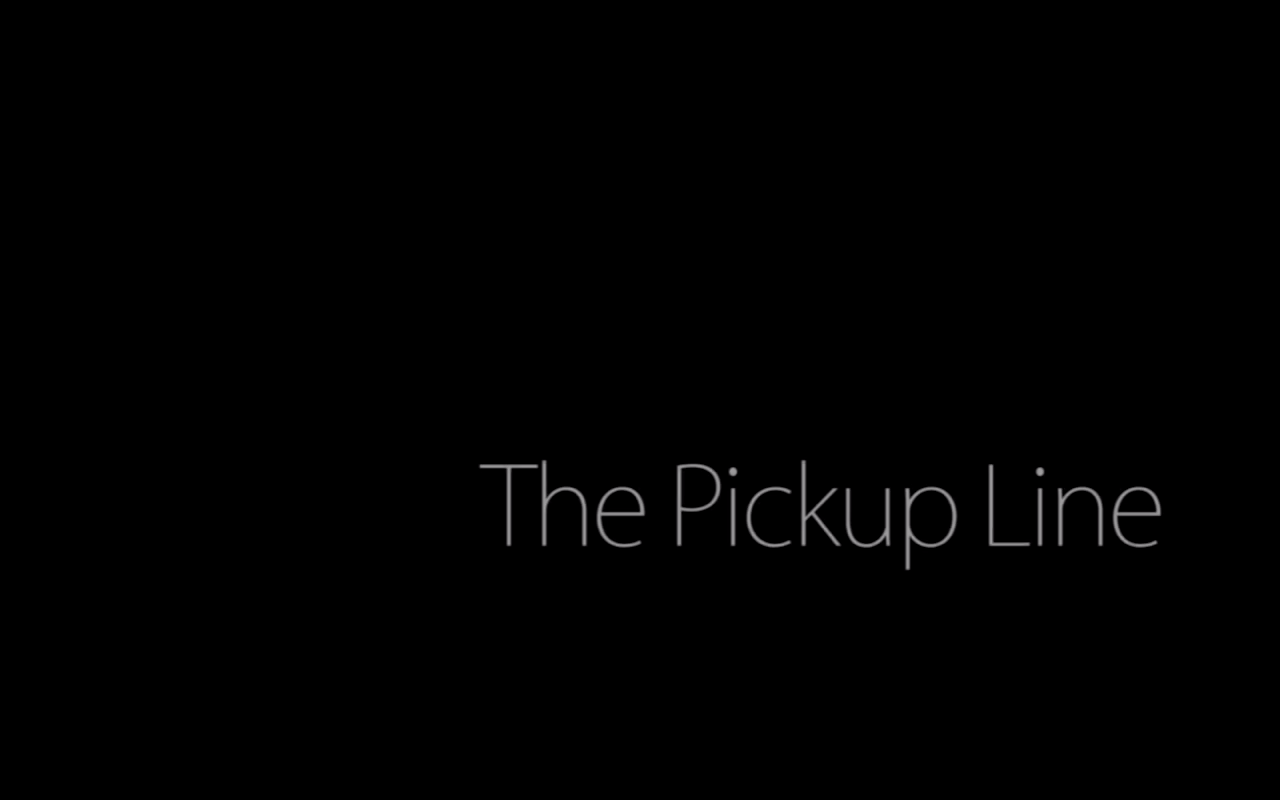 The Pickup Line