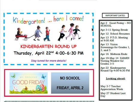 NWES April 2021 Parent Newsletter