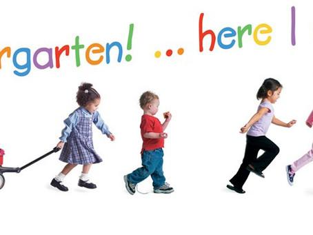 Kindergarten Round Up - 4/22/21