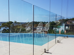 Pool Glass Cleaning • Vaucluse, NSW