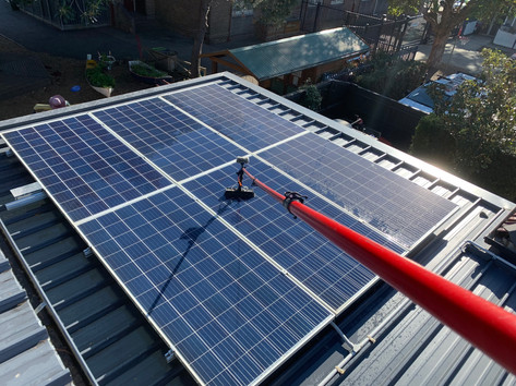 Solar Panel Cleaning • Lilyfield, NSW