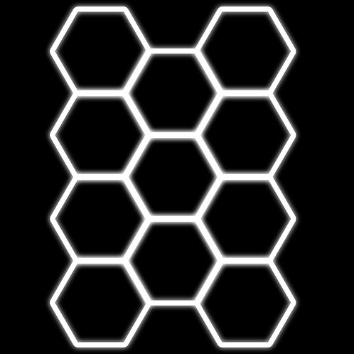 LED strop hexagon 368 Luxury LED Lights